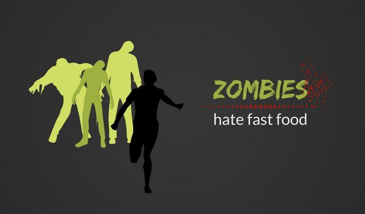 Zombies Hate Fast Food Popkulturowa Motywacja Do ćwiczeń
