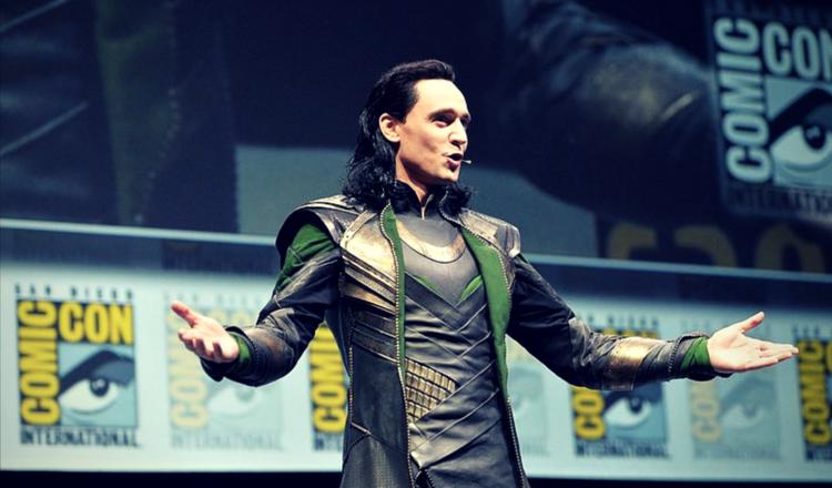 Tom Hiddleston jako Loki