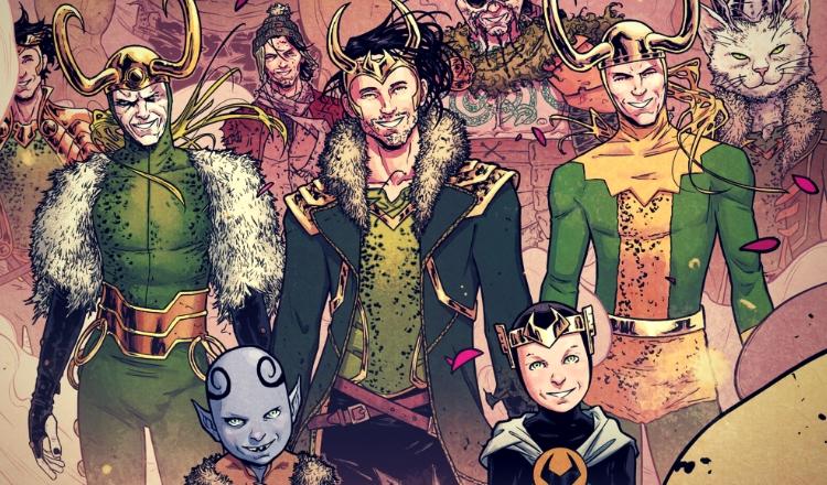 Loki w komiksie