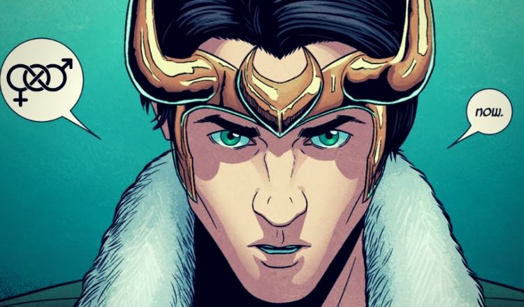 Gender fluid Loki