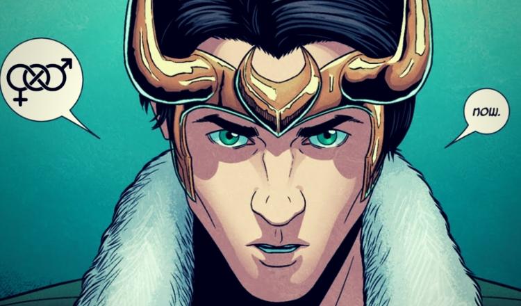 Gender fluid Loki